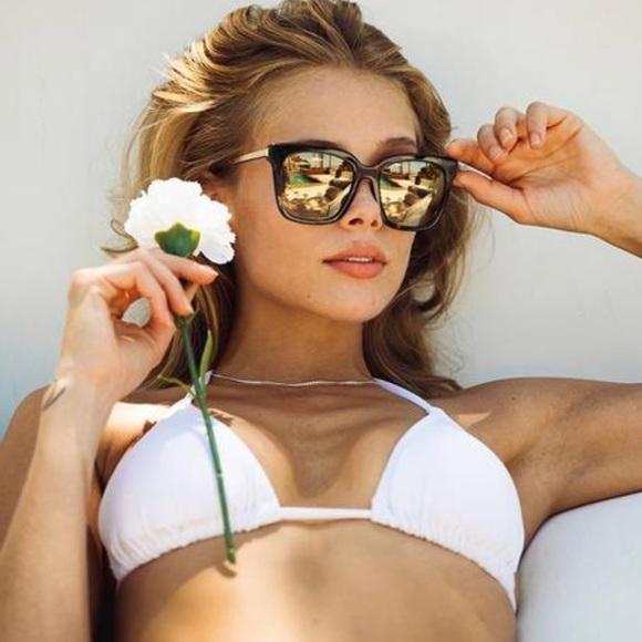97033bd05d Diff Bella Sunglasses Tortoise Gold Flash  BNWT